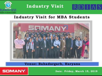 Industry VIsits -