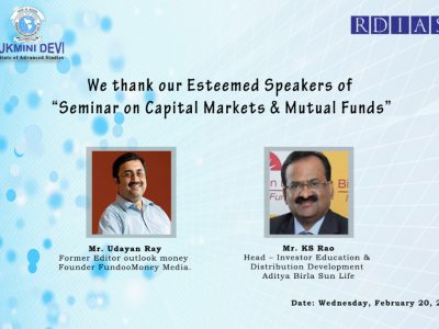 Seminar on Capital Markets & Mutual Funds